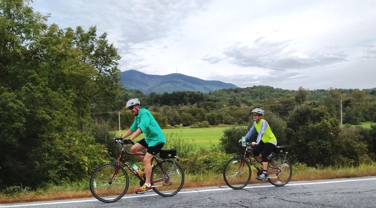 Southern Vermont Bike Tour Couple