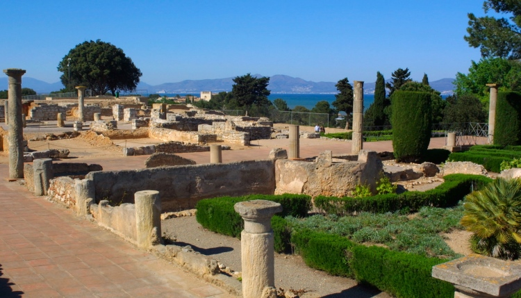 Empuries Ruins, Costa brava, Spain