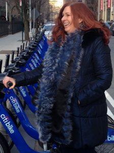 Susan Featured traveler, Citi Bike
