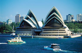 Sydney trip extension on New Zealand bike tour