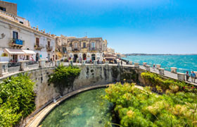 Syracuse is Sicily BIke Post Tour