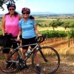Tuscany biker, wine