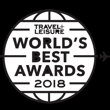 Travel+Leisure 2018 World's Best Awards Logo