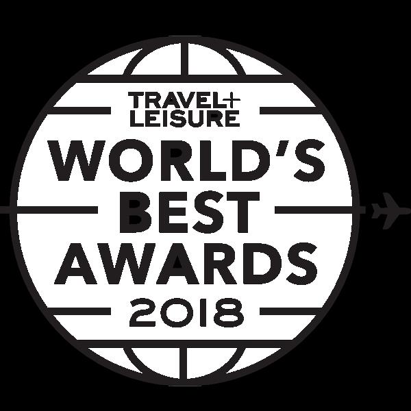 travel and leisure award winner