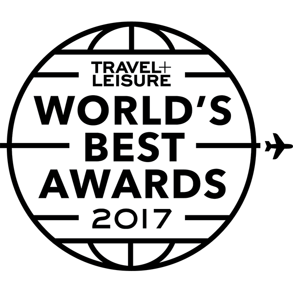 travel and leisure award winner