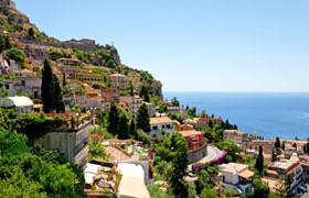Taormina is Sicily BIke Pre Tour