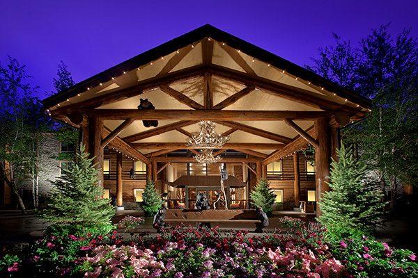 The Lodge at Jackson Hole Entrance