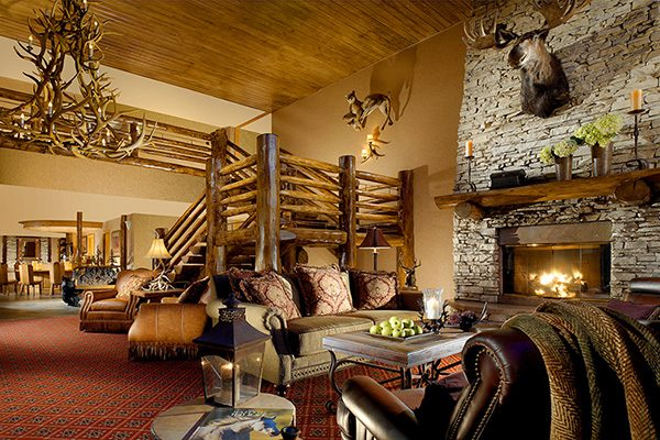 The Lodge at Jackson Hole Lobby