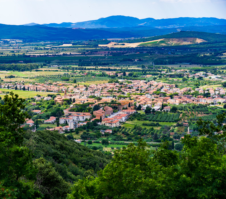 The Tuscan Coast, Italy. Landscape photo