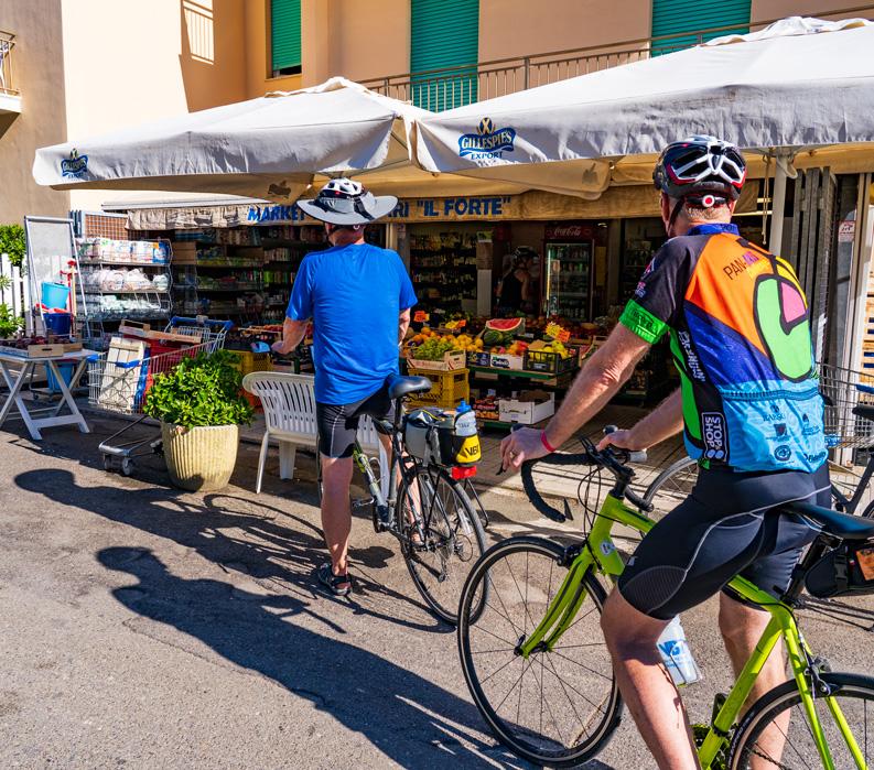The Tuscan Coast, Italy. Market.