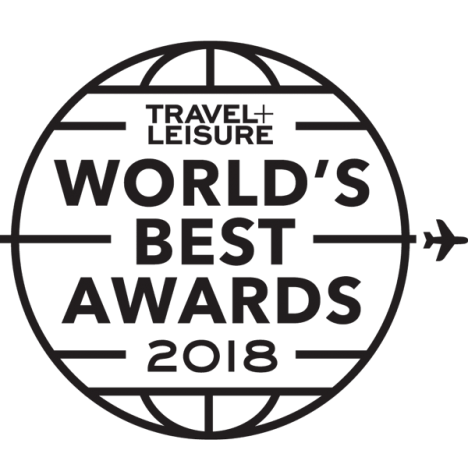 Travel+Leisure 2018 World's Best Awards Logo