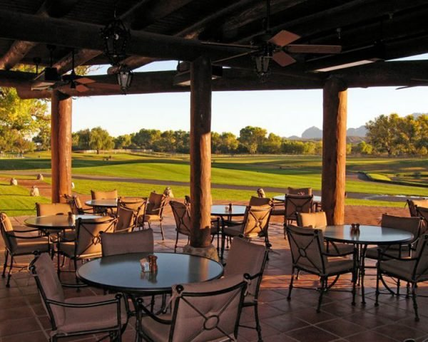 Tubac Golf Resort Spa Patio