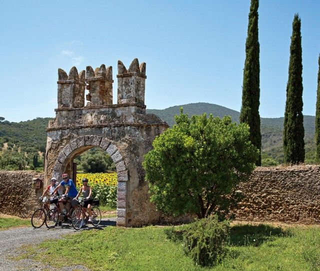 Tuscan coast bike tour