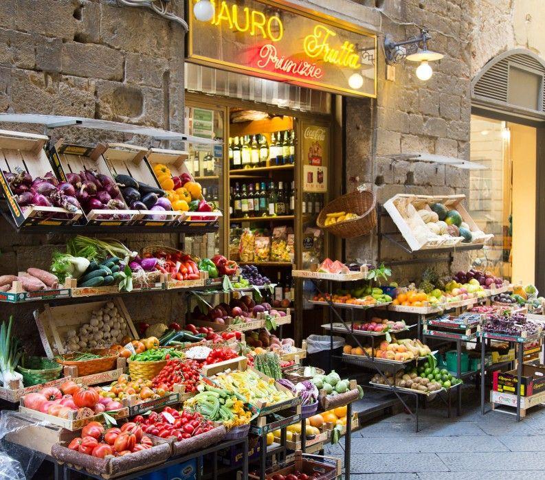 Market in Tuscany