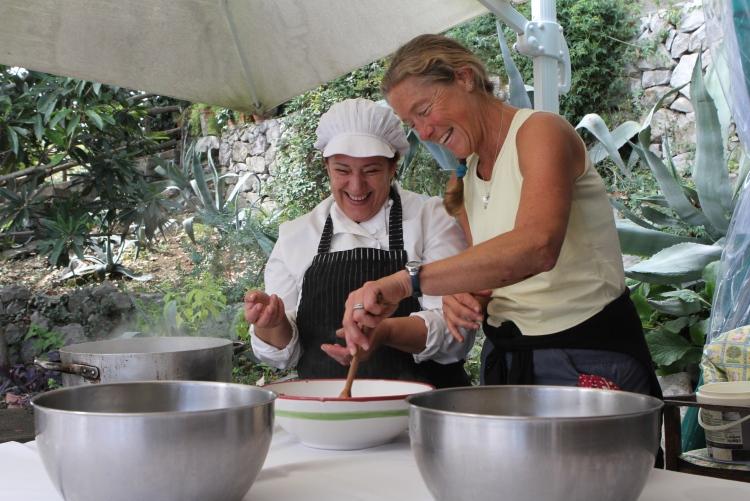VBT Amalfi Mozzarella Making Class
