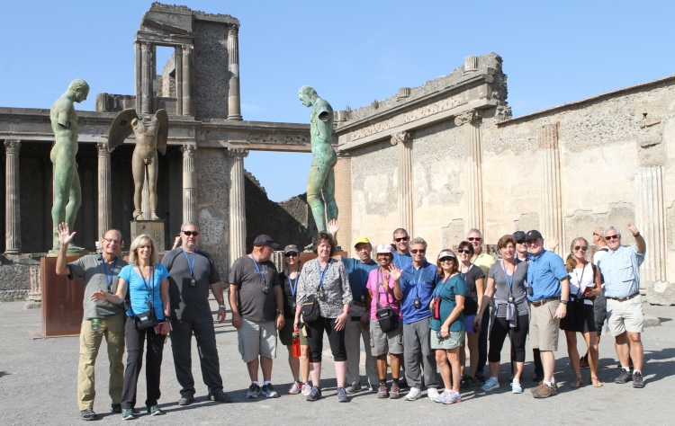 VBT Malfi Coast Walking Tour Pompeii