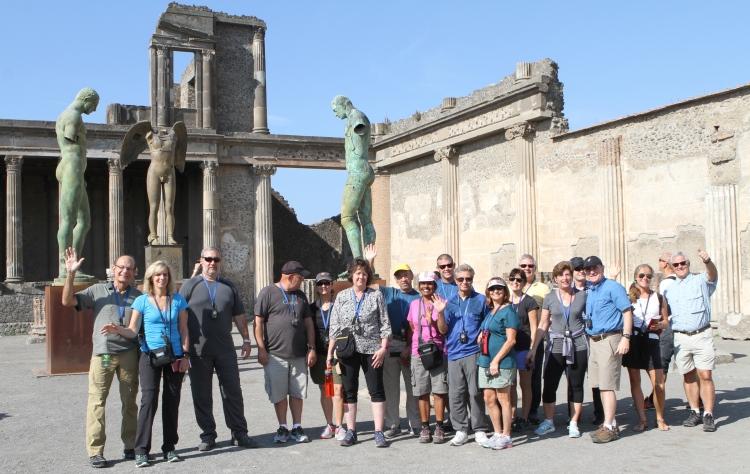 VBT Malfi Coast Walking Tour Pompeii