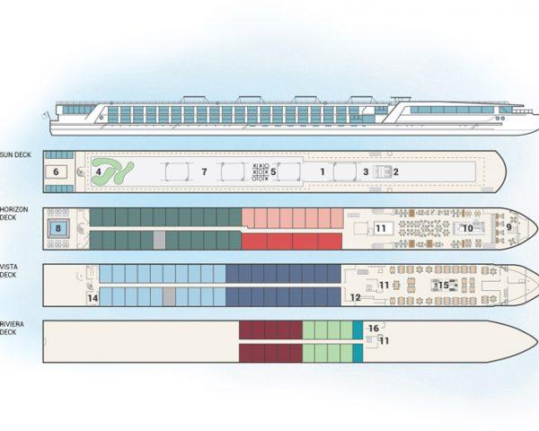 Emerald ship floorplan