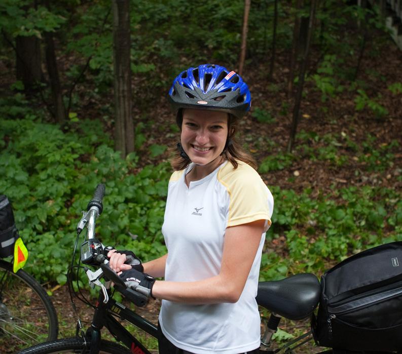 Vermont: Champlain Valley and Islands, Biker