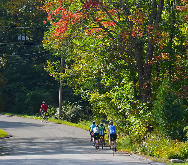 Vermont: Champlain Valley and Islands, Biking