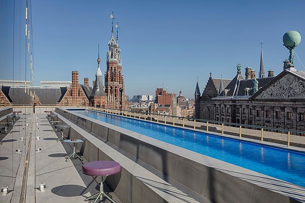 W Amsterdam Pool Deck