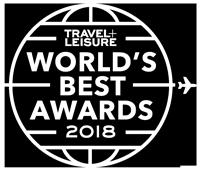 Travel + Leisure World's Best Awards 2018 Logo