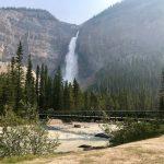 Walk the Canadian Rockies: Banff & Yoho National Parks - Bridge and waterfall
