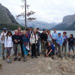 Walk the Canadian Rockies: Banff & Yoho National Parks - Guests in front of lake