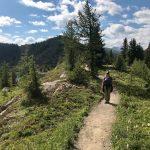 Walk the Canadian Rockies: Banff & Yoho National Parks - Guest walking