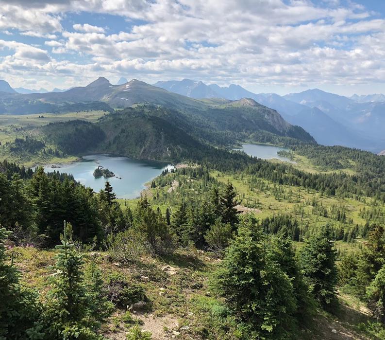 Walk the Canadian Rockies: Banff & Yoho National Parks - Lake views