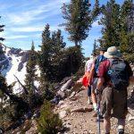 Walk the Canadian Rockies: Banff & Yoho National Parks - guests walking