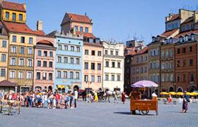 Poland Bike Tour PreTrip Warsaw