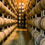 Barrels of California Wine