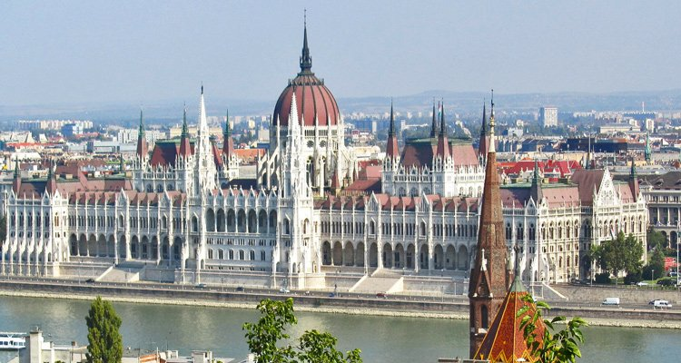 castles along Danube river