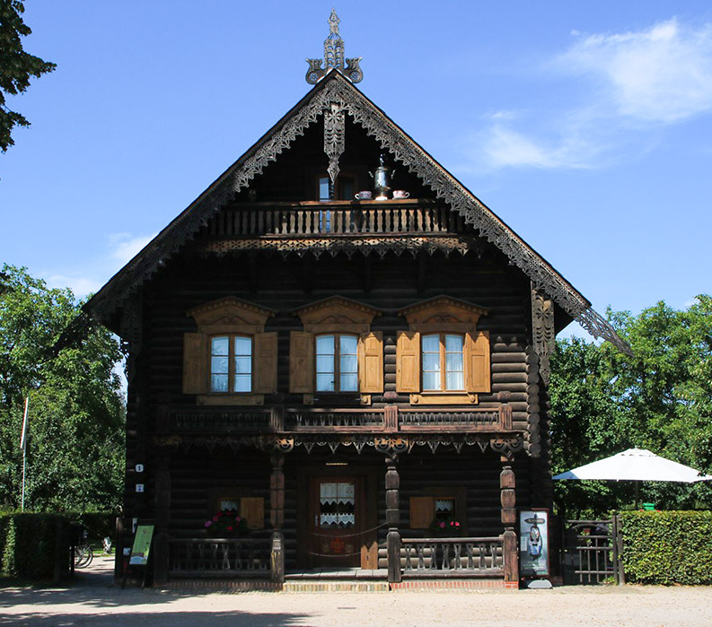 classic german chalet