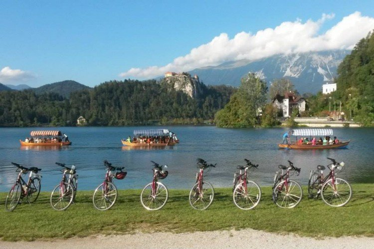 VBT Bike Tours, slovenia lake bled