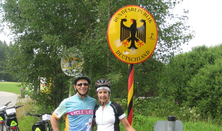 czech Germany Bike Border Crossing