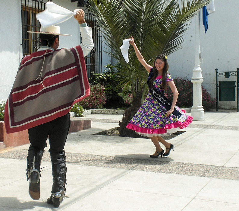 Dancing in the streets of Chile