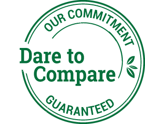 Dare to Compare Guarantee