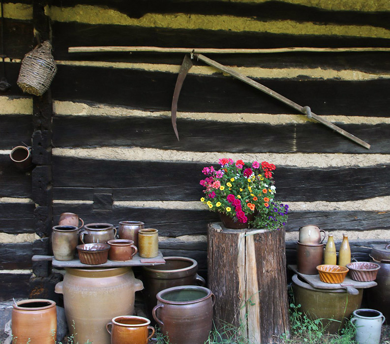 Rustic German Pottery