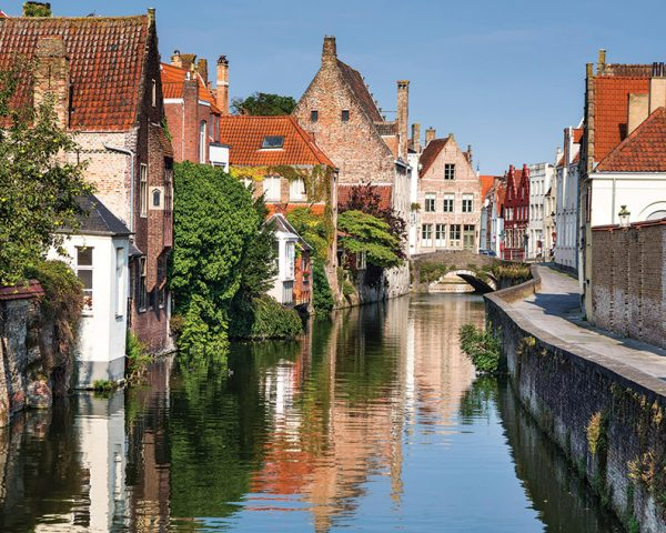 Holland Belgium Bike Canals