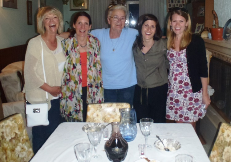 Croatia home hosted meal, VBT Bike Tour