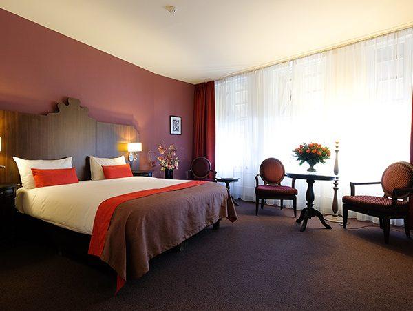 Hotel Corona Guest Room