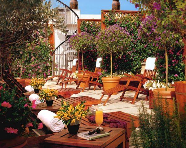 Hotel Dei Mellni Outdoor Lounge