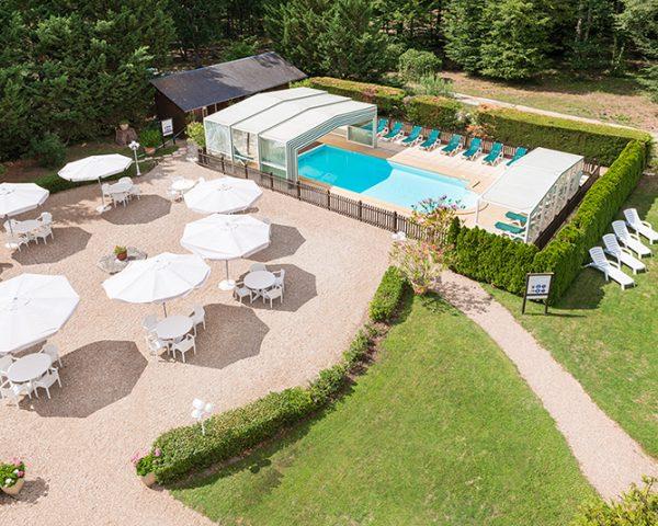 Hotel Relais des Landes Pool