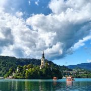 Lake Bled, Slovenia, VBT Bicycling Tour
