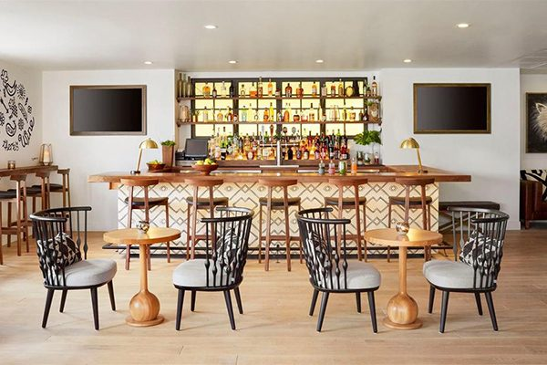 Landsby Bar Area