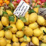 Amalfi lemons, Lemon Cake, VBT