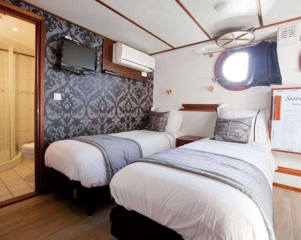 Boat, Magnifique I Twin Bedroom