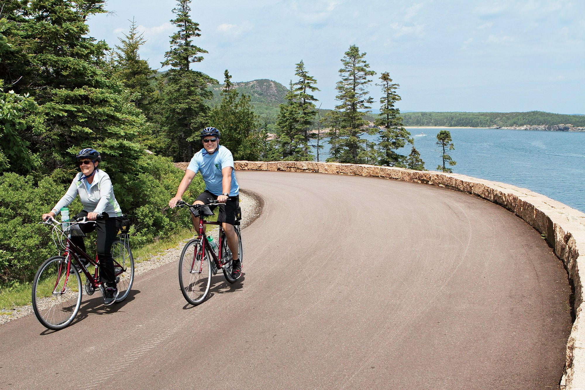 Bicycle tours in maine acadia bicycle tours for Bike rides in maine